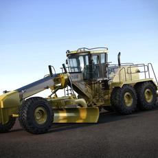 Caterpillar 16M Motor Mining Grader 3D Model