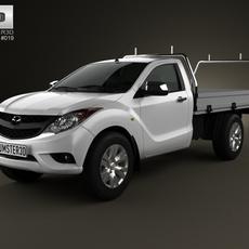 Mazda BT-50 Single Cab 2012 3D Model