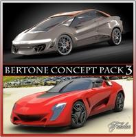 Bertone concepts 3 3D Model