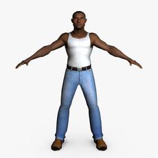 Casual Male 07 3D Model