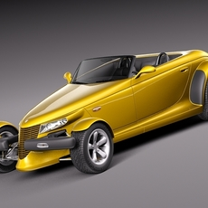 Plymouth Prowler stock 1997-2002 3D Model