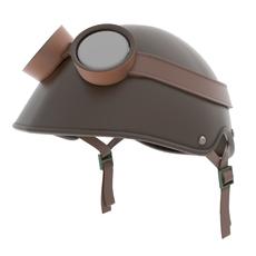 Helmet & Goggles 3D Model
