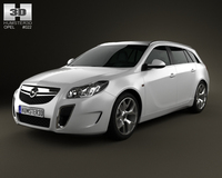 Opel Insignia OPC Sports Tourer 2012 3D Model