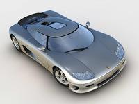 Koenigsegg CC8S 2002 3D Model