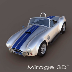 AC Shelby Cobra 427 (1965) 3D Model