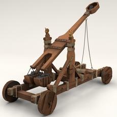 Norwan Catapult 3D Model