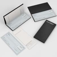 Checkbook 3D Model