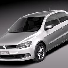 Volkswagen Gol 2013 3D Model