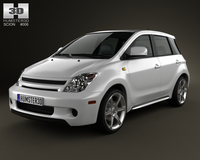 Scion xA 2006 3D Model