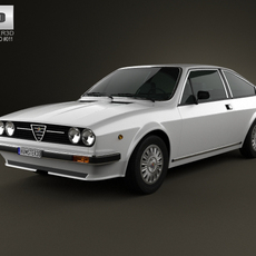 Alfa Romeo Sprint 1976 3D Model