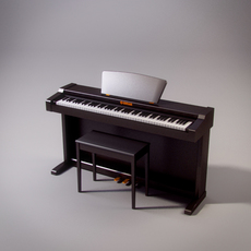 Yamaha Clavia piano 3D Model