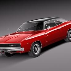Dodge Charger 1968 3D Model