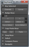 Free KeyFriend - Animation Panel for Maya 1.0.0 (maya script)