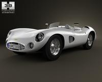 Aston Martin DBR1 1957 3D Model