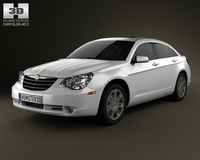 Chrysler Sebring sedan 2007 3D Model