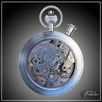 Watch 7 std mat 3D Model