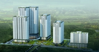 Detailed high rise building complex 3D Model