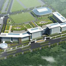 3dmodel university building 3D Model