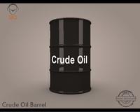 Crude Oil Barrel 3D Model