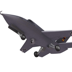 Barracuda UCAV 3D Model