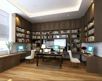 3D Model photorealistic interior study room 3D Model