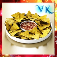 Nacho Bowl 3D Model