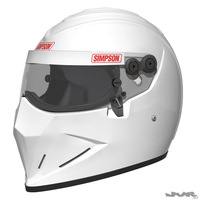 Simpson Diamondback - Stig Helmet 3D Model