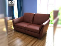 IKEA ALVROS Two-seat sofa 3D Model