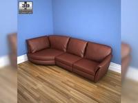 IKEA ALVROS corner sofa 3D Model