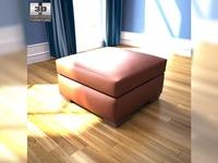 IKEA ALVROS ottoman 3D Model