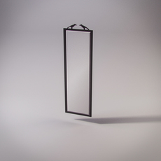 2 Birds frame mirror 3D Model
