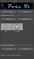 Free Pose it for Maya 0.0.1 (maya script)