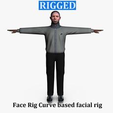 Casual Male 04 3D Model