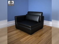 IKEA SMOGEN one-seat sofa 3D Model