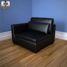 IKEA SMOGEN one-seat sofa 3D Model