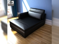 IKEA SMOGEN Chaise longue 3D Model