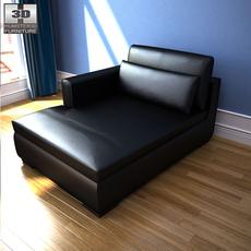 IKEA SMOGEN Chaise longue 3D Model