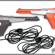 NES Zapper 3D Model