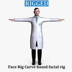 Surgeon Male 01 3D Model