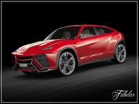 Lamborghini Urus Vray 3D Model