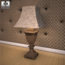 Ashley Constellations Table Lamp 3D Model