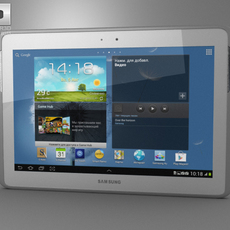 Samsung Galaxy Note 10.1 3D Model