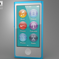 Apple iPod nano 5th generation 2012 3D Model