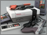 NES luxury pack 3D Model