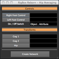 Free RigBox_Reborn - Hip Averaging  for Maya 1.0.0 (maya script)