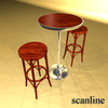 06 45 43 844 bar table and chair preview03 scanline 4
