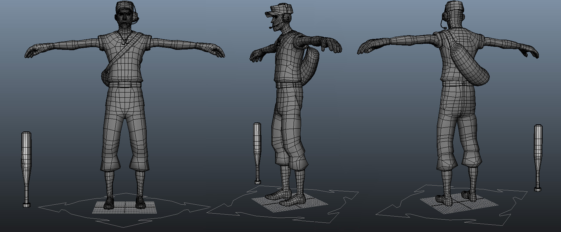 Team Fortress 2 - Scout for Maya