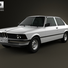 BMW 3 Series coupe (E21) 1975 3D Model