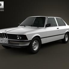 BMW 3 Series coupe (E21) 1975 3D Model