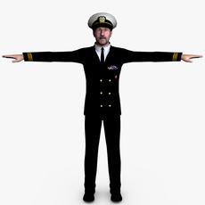 Navy Male 03 3D Model